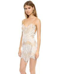 For Love & Lemons Antigua Maxi Dress  - Lyst