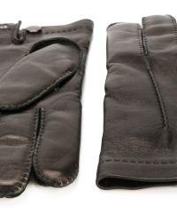 Ferragamo - Stitched Gloves - Lyst
