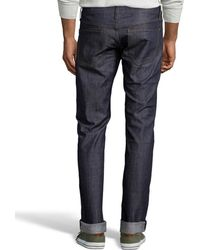 James Jeans - Raw Stretch Denim Straight Leg 'travis' Jeans - Lyst