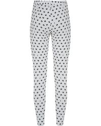 Juicy Couture Bow Print Pyjama Bottoms - Lyst