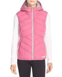 Bench 'brightsky' Water Resistant Vest - Pink