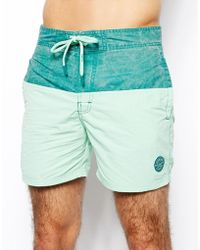 Pull&Bear - Basic Swim Shorts - Lyst