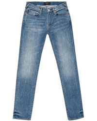 Paul Smith | Men's Slim-fit Light-wash Stretch-denim Jeans | Lyst