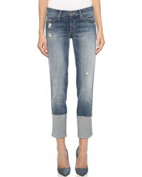 Mother Pony Boy Fray Jeans - Rough It Up - Lyst