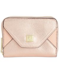 Anne Klein Time To Indulge Small Card Case - Pink