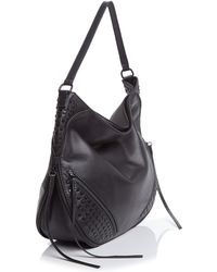 She + Lo Rise Above Studded Hobo
