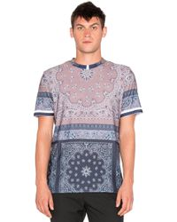 Clover Canyon - Paisley Scarf Tee - Lyst
