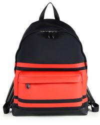Givenchy | Striped Neoprene Backpack | Lyst