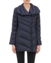 Barneys New York Long Puffer Coat - Lyst