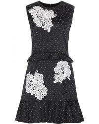 Erdem Talia Jacquard Dress - Lyst