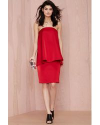 Nasty Gal Cameo Ascent Layered Dress - Lyst