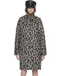 Gucci Animalier Mohair Coat - Lyst