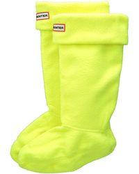 Hunter Neon Boot Socks - Lyst
