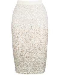 Coast Anderson Sequin Pencil Skirt - Multicolour