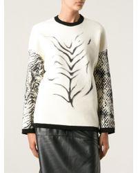 Emanuel Ungaro Printed Sweater - Lyst