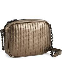 Kenneth Cole Sloan Street Leather Crossbody Bag - Lyst