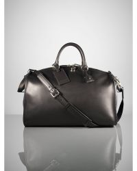 Ralph Lauren Saddle Weekender Bag - Lyst