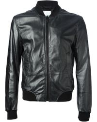 KENZO Wave Embroidered Jacket - Black