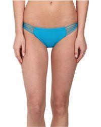 Mikoh Swimwear Lanai Multi String Loop Side Bottom blue - Lyst