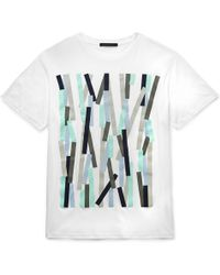 Christopher Kane | Bolster Printed Cotton T-shirt | Lyst