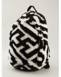 Ktz Black Printed Backpack - Lyst