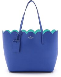 Kate Spade Lily Avenue Carrigan Tote - Island Deep/Fresh Air - Lyst