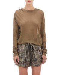Isabel Marant Tissue Jersey Xipa Tshirt - Lyst