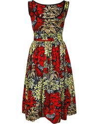 Lena Hoschek Congo Dress - Lyst