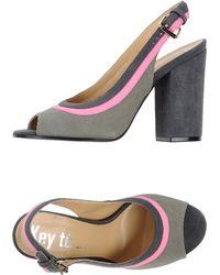 Key Té - Sandals - Lyst