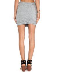 Stateside - Shirred Skirt - Lyst