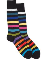 Paul Smith Rainbow Stripe Socks - Lyst