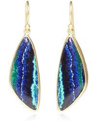 Kothari - One Of A Kind Azurite Malachite Earrings - Lyst