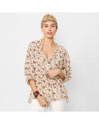 Denim & Supply Ralph Lauren - Floral Ruffled Poet Top - Lyst