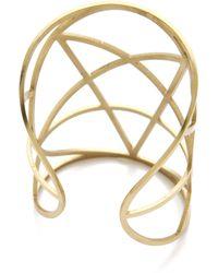 Pamela Love - Brass Mini Pentagram Cuff - Lyst