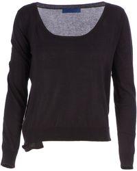 Sharon Wauchob - Scoop Neck Jersey Sweater - Lyst