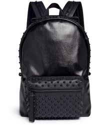 Alexander McQueen | Rubber Stud Coated Canvas Backpack | Lyst