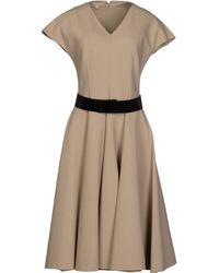 Michael Kors Knee-Length Dress - Lyst