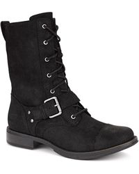 Ugg Marela Suede Boots - Lyst