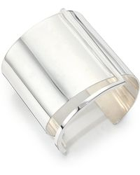 Ralph Lauren | Silverplated Brass Cuff Bracelet | Lyst