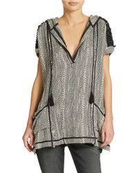 Free People Forever Yours Striped Tunic - Lyst