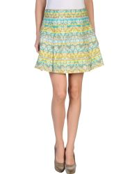 Matthew Williamson Knee Length Skirt - Lyst