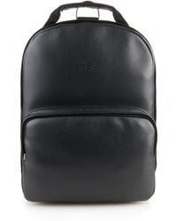 Hood By Air Leather Backpack - Black