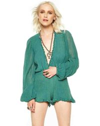 Jen's Pirate Booty Tumbleweed Playsuit In Military green - Lyst