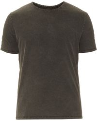 American Vintage - Crew-neck Washed Cotton T-shirt - Lyst