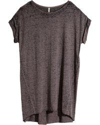 H&M T-Shirt Dress - Lyst