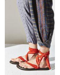Sanuk Yoga Slinged Up Sandal - Orange