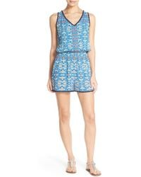 Sperry Top-Sider - 'beachside' Cover-up Romper - Lyst
