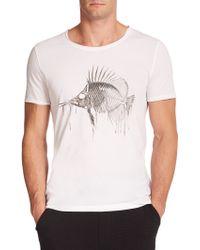 BOSS | Dradford Fish-graphic Tee | Lyst