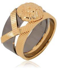 Versus - Metal Lion Ring - Lyst