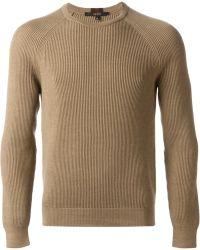 Gucci Ribbed Sweatshirt - Lyst